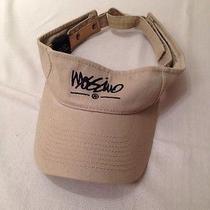 Mossimo Sun Visor Beige 100%Cotton Hat Photo