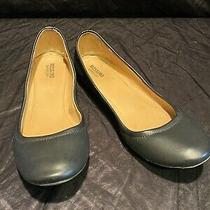 Mossimo Supply Black Women's Flats Ballet Flats Faux Leather Size 8 Photo