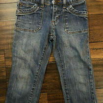 Mossimo Supply Co Blue Jean Girls 6 Denim Pants  Photo