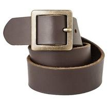 Mossimo Supply Co. Genuine Leather Pilgrim Belt - Brown Photo
