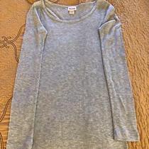 Mossimo Supply Co. Gray Long Sleeve Junior Girls Shirt Size Xs Photo