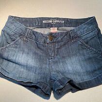 Mossimo Supply Co Junior Size 3 Fit 6 Denim Shorts Blue Short Shorties Photo