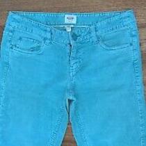 Mossimo Supply Co. Teal Corduroy Pants S Photo