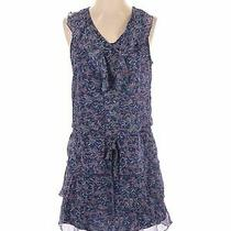 Mossimo Supply Co. Women Blue Casual Dress S Photo