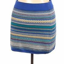 Mossimo Supply Co. Women Blue Casual Skirt Xl Photo