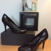Mossimo Supply Co. Women's Black Patent Round Toe Heels/pumps  Size 8.5m Photo
