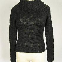 Mossimo Supply Co. Wool Blend Cowl Neck Long Sleeve Pullover Sweater Sz S X35 Photo