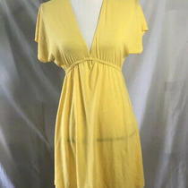 Mossimo Supply Co. Yellow Beach Dress Photo