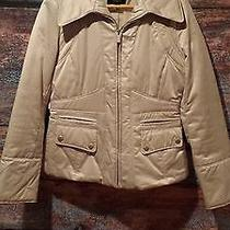 Mossimo Tan Casual Winter Coat Photo