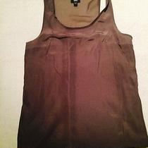 Mossimo Taupe Loose Fit Tank S Photo