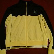 Mossimo Track Jacket L Brown/white/blue Nike Adidas Reebok Photo