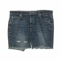 Mossimo Women Blue Denim Shorts 12 Photo