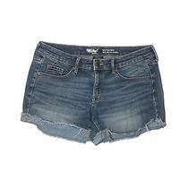Mossimo Women Blue Denim Shorts 6 Photo