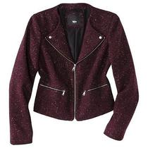 Mossimo Women's Blazer -Purple Photo