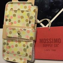 Mossimo Women's Cell Phone Case Wallet Dots Photo
