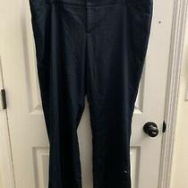 Mossimo Womens Stretch Pants Blue Denim Look 16 Fit 3 Photo