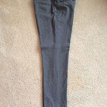 Mossimo Womens Modern Fit Heather Gray Ankle Pant Stretch 4 Photo