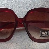 Mossimo Womens Oversized Sunglasses New Brown Jackie O Glam Retail 16.99 Photo