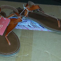Mossimo Womens Sandals Cognac/ Lady Size 11 Photo