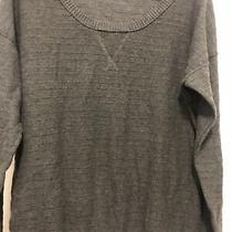 Mossimo Womens Sz Large Xxl. Pullover Sweater. Crew Neck Grey L/s. Photo