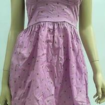 Mossimo Womens Xs Pocket Flare a-Line Dress Above Knee Casual Purple Chop 2k0xz2 Photo