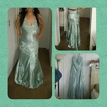 Most Beautiful Wedding Prom Mint Sue Wong Formal Pageant Sequin Dress Sz 12 Photo