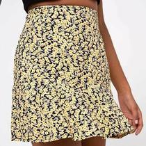 Motel Rocks Gaelle Skirt in Mini Bloom Yellow 2xs Xxs (Mr95) Photo