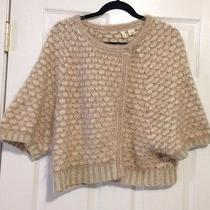 Moth Anthropologie Wood/angora Blend Sweater Shrug Cardigan Size Medium Photo