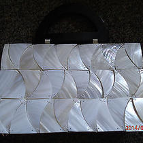 Mother of Pearl - Mad by Design Very Nice Purse Handbag Natural Shell Still Tag Photo