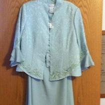 Mother of the Bride Chiffon 2 Piece/set Skirt/dress Size 12 Photo