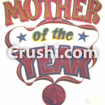 Mother of the Year 1970's Rare Vintage T-Shirt Iron On Photo