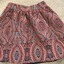 Moulinette Soeurs Anthropologie Tapestry Kavari Full Skirt Sz Xs Photo