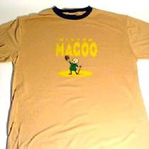 Mr Magoo Cartoon Tv Show Retro Adult Brown Tee Shirt Xl Vintage Style New Photo