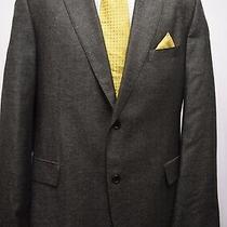 Ms3319 Hugo Boss Men's Black Mix Blazer Jacket Size 48 Uk.  58 Eur Photo