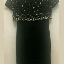 Msc My Sisters Closet Size 8 Black Formal Business Dress With Cover  Photo