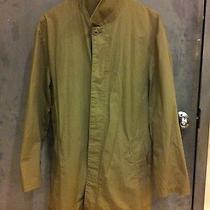 Muji 100% Cotton Trench Mac Coat. Khaki. Unique and Rare. a.p.c. Photo