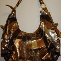Multi-Colored Bronze Handbag Photo