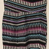 Multi Colored Random Pattern Tube Skirt by Charlotte Russe Photo