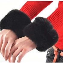 Mutly Colors Winter Imitation Rabbit Fur Oversleeve/gloves/bracelets Photo