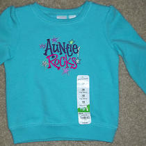 My Auntie  Rocks  --   Long Sleeve Shirt  by Jumping Beans   Size  18  Months    Photo