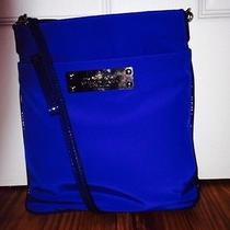 My Flat in London Uk Post Messenger Bag in Royal Blue Photo