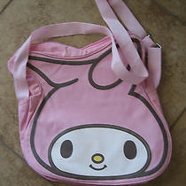 My Melody Bunny Pink Canvas Bookbag. Photo