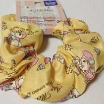 My Melody Yellow Scrunchy Hair Accessories Barrette Sanrio Photo