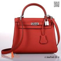 My Prize Hermes Kelly Bag 25cm Rouge Vermillion Incredible Find Photo