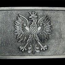 Na31144 Nos Vintage 1970s Griffon Crest Art Belt Buckle Photo