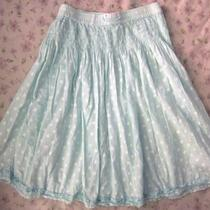 Naartjie Girls Skirt Shabby Chic Bohemian Boho Pola Dot Aqua Xxxxl 10 Years Photo