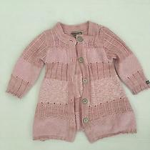 Naartjie Lux Infant Sweater Size 12/18 Blush Pink Color Photo