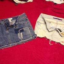 Name Brand Skirt Size 3/4 Armani Exchange and Pink Photo