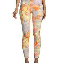 Nanette Lepore Floral-Print Xl Cropped Leggings in Bloom Mrsp 58  Photo
