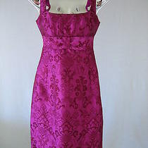 Nanette Lepore Modern Brocade Pink Dress Nwt Sz 2 Photo